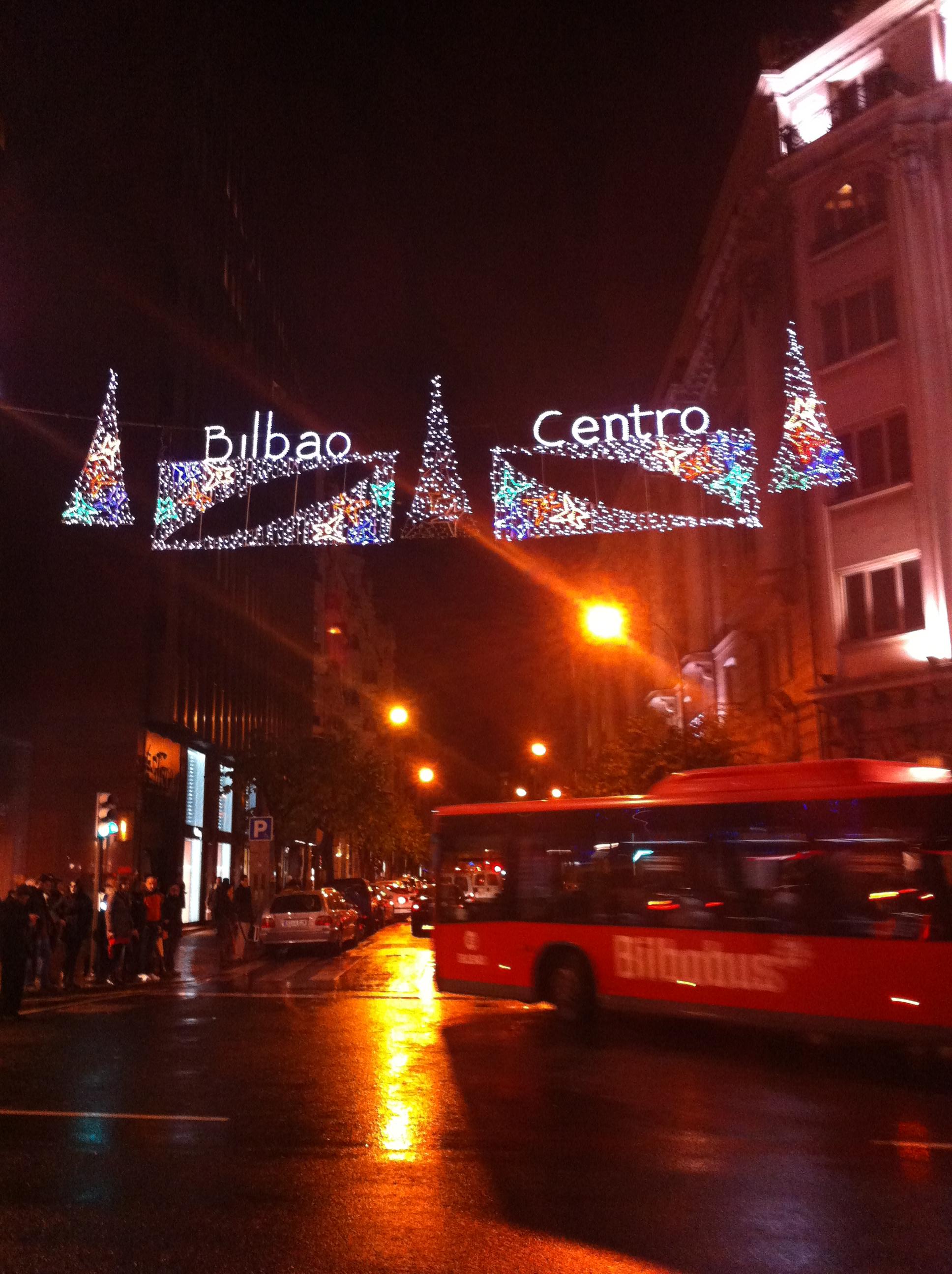 La navidad vuelve a brillar en bilbao centro bilbao - Temperatura actual bilbao ...